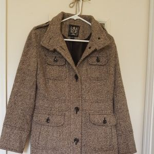 Knee length winter coat